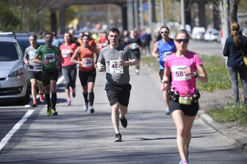 Springa 2 mil i veckan